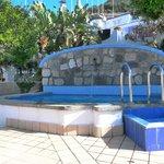 La piscina idromassaggio