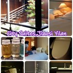 😇nice large clean room and comfort room with private hotspring bath. 😈food choices is limited