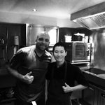 Me and Chef Taka!! What am amazing chef!