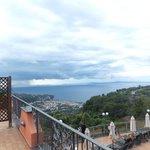 Hotel Prestige Sorrento view from private balcony