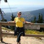 Já no alto da Grouse Mountain