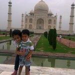 At The Taj.