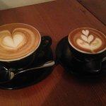 Cappuccino & Macchiato - YUM!