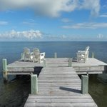 The dock at the Inn on Pamlico Sound