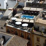 View of pool from the Giralda