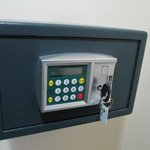 The electronic safe we given a service key to use