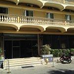 Esterno dell'albergo
