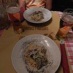 Spaguetti carbonara: Buenísimos