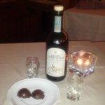 Grappa di Brunello e dolcetti al cioccolato