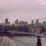 Millennium Bridge desde el Tate