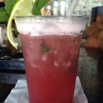 These Raspberry Mojitos were mouth watering delicious��