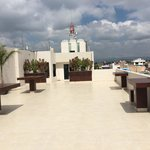 rooftop terrase of hotel