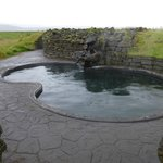 viking pool - fairly warm slimy bottom