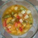 Fruta fresca del desayuno