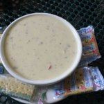 Beer cheese and sausage soup