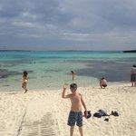 local beach Punta Prima