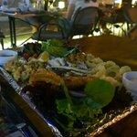 The sea food platter