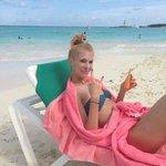 Пляж шикарный