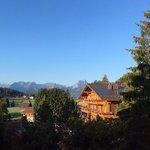 Vue vers Gstaad depuis la suite #24