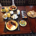 Irish breakfast was delicious!