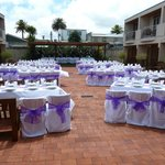 Wedding option outside
