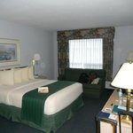 Spacious comfy room at Quality Inn Ocean Shores