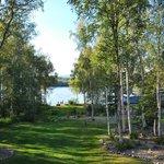 Garten und See