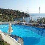 Pool mit Blick auf Bucht