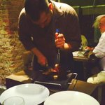 Chateaubriand cut tableside