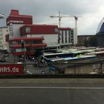 View of the hotel from the Koeln HBF