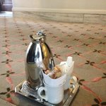 Coffee Service in the morning