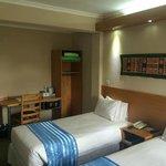 ツインベッドの部屋