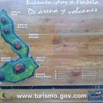 Mapa de la Isla Isabela