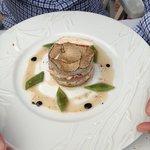Artichauts crabe et truffes