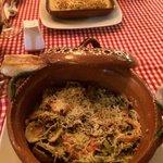 Fettucine frutti di mare & cannelloni Papacharly