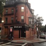 Delux at the corner if Chandler and Clarendon in Boston