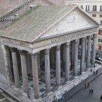 View from our room at Albergo del Senato