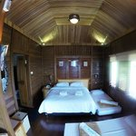 Our room with two extra beds