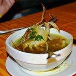 монгольский ресторан. Очень вкусный суп был.