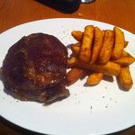 2 Course Lunch-Rib Eye & Chips!