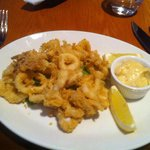 2 Course Lunch-Tender Calamari!