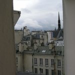 Looking across the chimney pots of Paris!!
