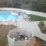Outdoor Pool and view from window