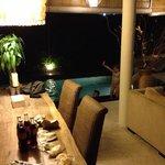 Dining / pool