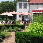 Tea Room & garden