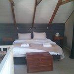 Very comfy bedroom.