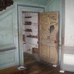 Historic grafitti on door
