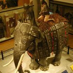 Elephant Armour at The Royal Armouries, Leeds.