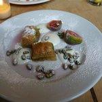 Baklava based dessert