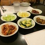 Kimchi appetizers